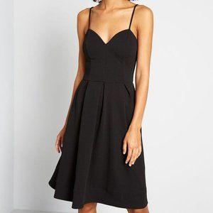 ModCloth Open-Air Flair Pleated A-line Dress ♥️